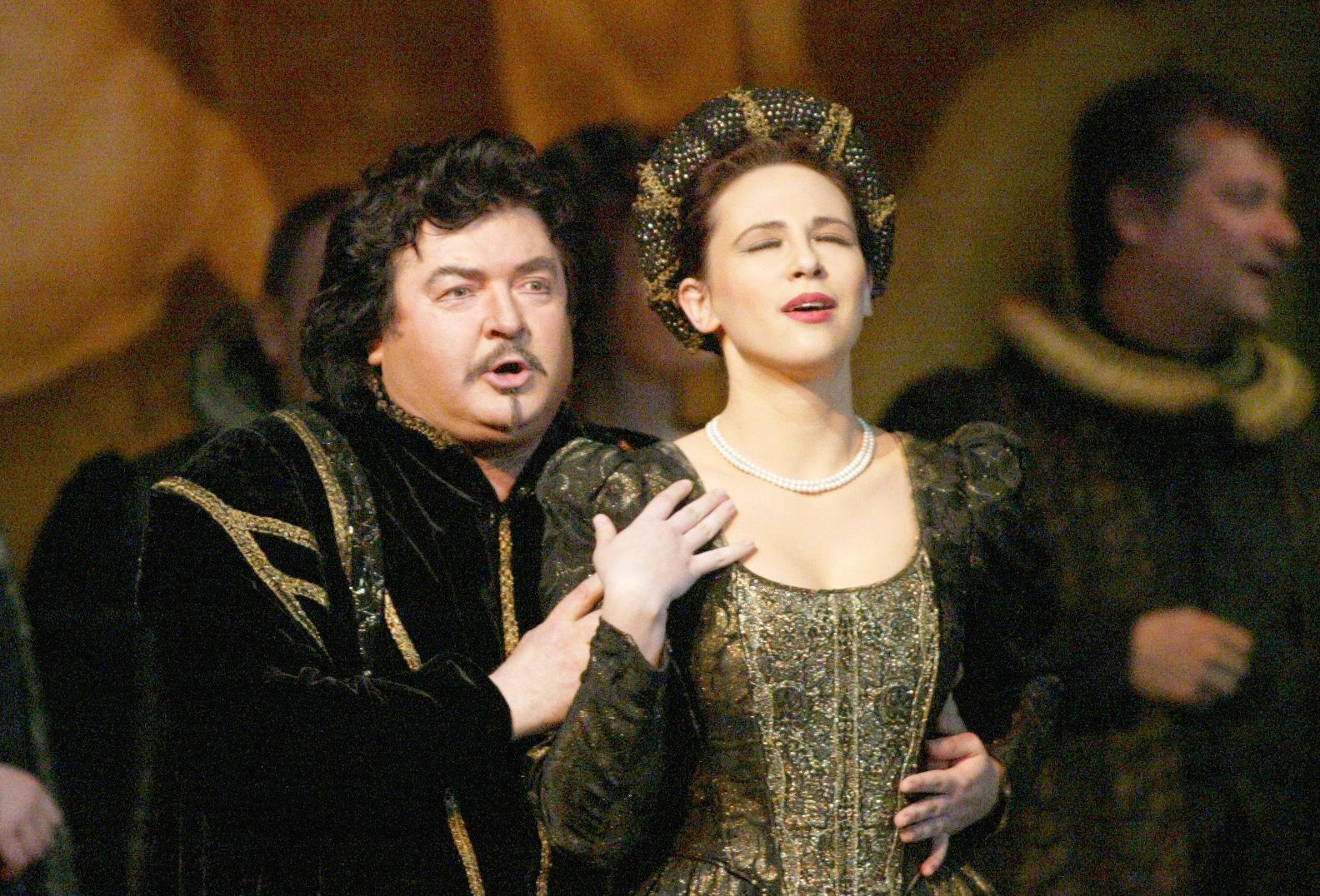 17. januar 2006, Maribor - SNG Maribor - Opera in balet - Opera Rigoletto Giuseppe Verdija - na posnetku Janez Lotrič